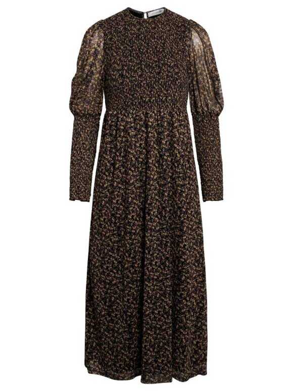 Co'Couture - Mesh Flower Smock Dress