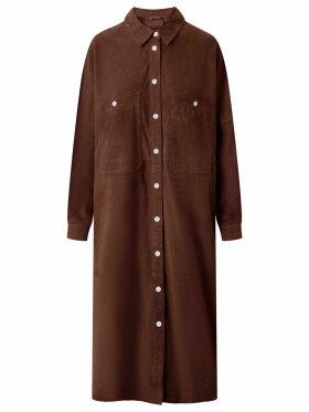DEPECHE - Long Shirt Dress