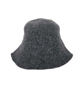Black Colour - Chillie Felt Bucket Hat