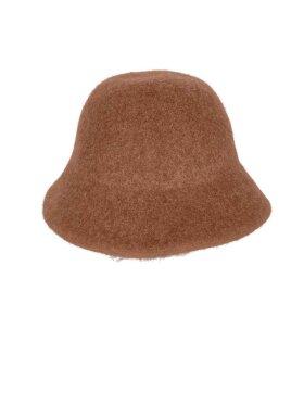 Black Colour - Belindo Wool Bucket Hat