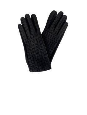 Black Colour - Waffle Gloves