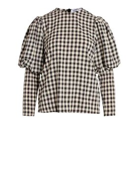 Co'Couture - Cadie Check Blouse